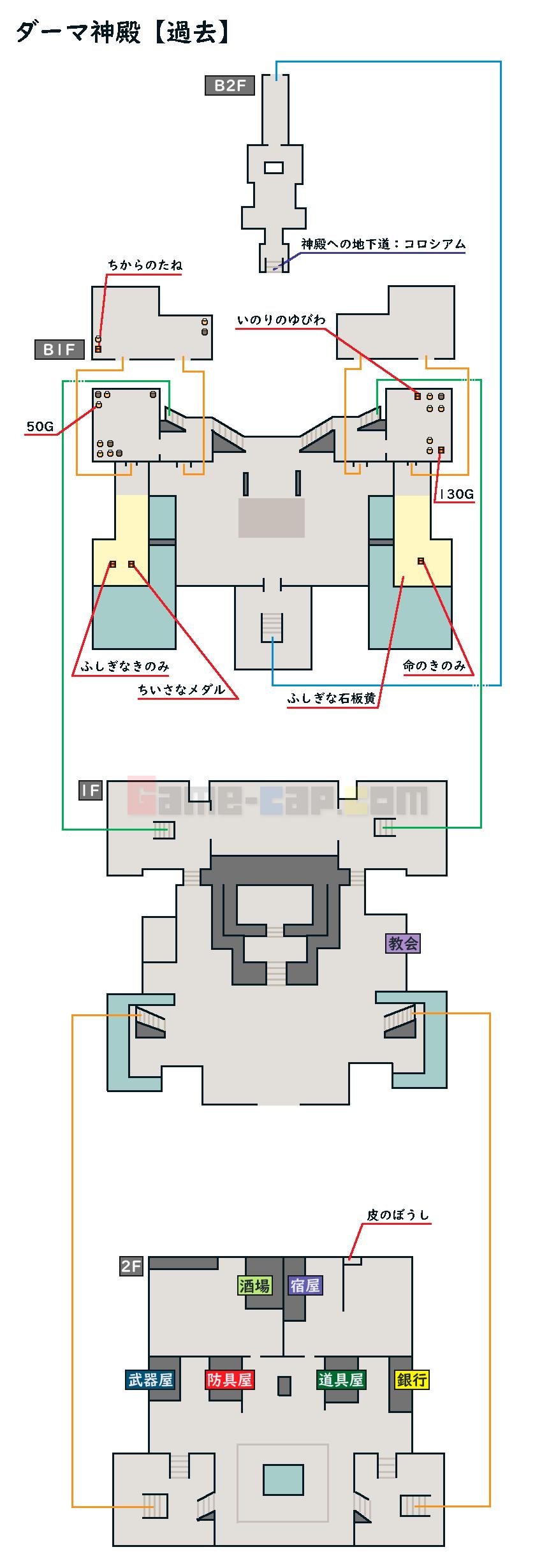 7 神殿 ドラクエ ダーマ